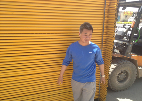 china latest news about How to caculated and exchange temporary fence hot dipped galvanized zinc thickness to how much zinc gram  weight of per square meter