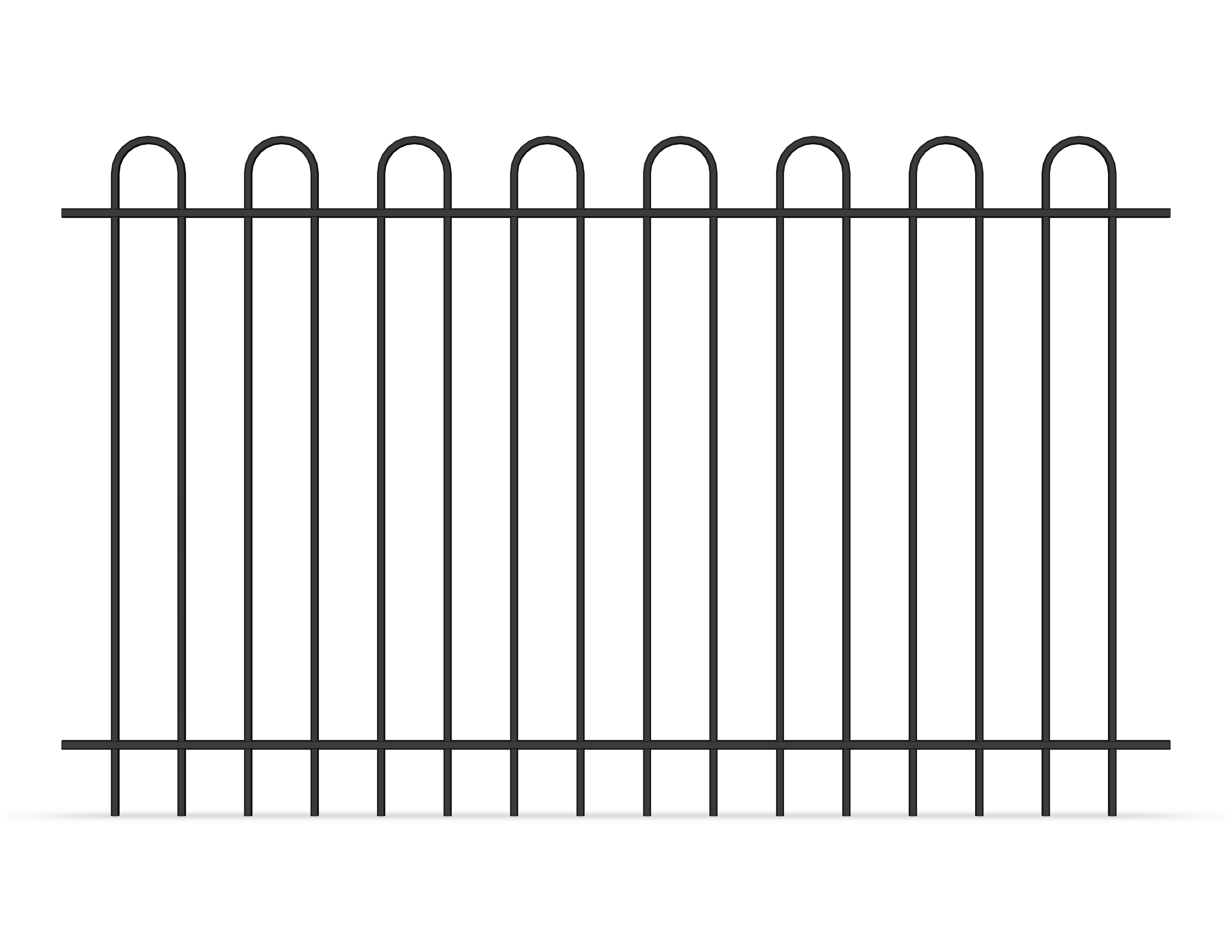 china latest news about Why choose tubular garrison fence panels rather than chain wire