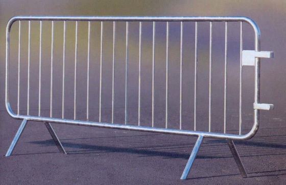 35mm tubing crowd control barriers