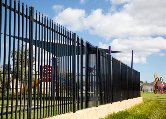 Corrugated Galvanized Steel Pipe Fence for Australia Standard