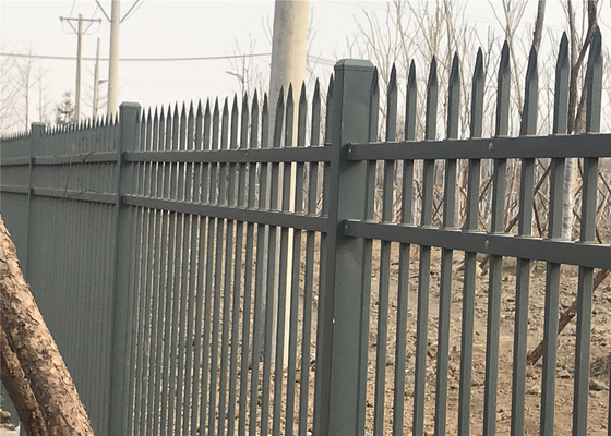 Steel Picket Fencing