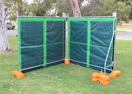 30dB Temporary Noise Barriers Inside EPDM/2.00mm Laminated outside Covered Tarpaulin For 2.1m*2.4m AU fence