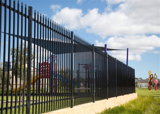 China Interpon Powder Coated Sliding gates 2100mm x 6000mm supplier