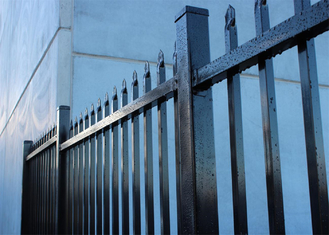 China Anti-Corrosion Zinc Steel Picket Fence supplier