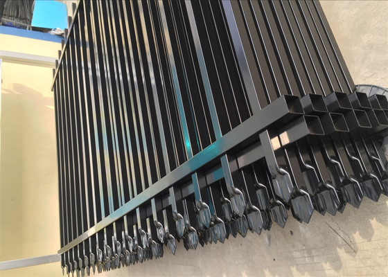 Tubular Fencing Picket 19mmx19mm x1.00mm 1800mmx2400mm come with 40mmx40mmx1.2mm 2 rails frame supplier