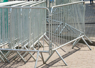 Crowd Control Barriers Perth OD25mm x 2.00 Frame Infill OD19mm x 1.5mm wall thick hot dipped galvanized 42 microns