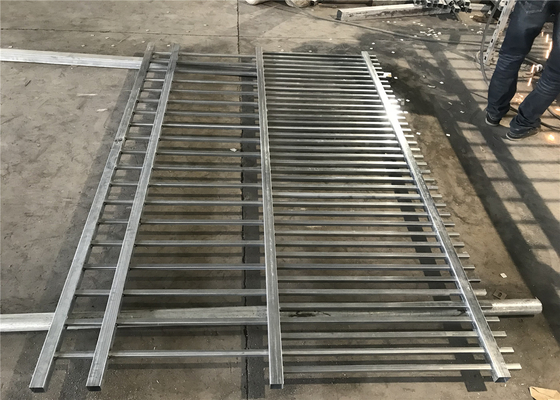 Diplomat Fencing Panels 2.1mtrs x 2.4mtrs Rail 45mm x 45mm Wall Thick 1.5mm Spacing 140mm
