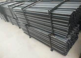star picket/Y post/fence post/temporary fence post black coated bitumen painted supplier