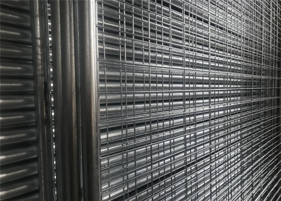 Temporary Fencing Panels With Hot Dipped Galvanized Star Picket 2.04kg per meter supplier