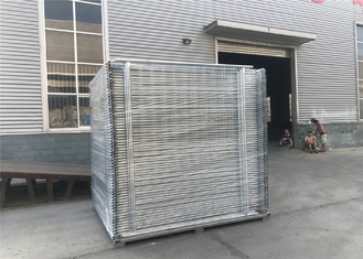 Hot Dipped Galvanized Temporary Fencing Panels OD 38mm wall thick 1.5mm Mesh 60mm x 150mm diameter 4.00mm supplier