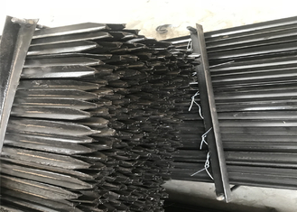 600mm 1.86kg /meter star picket black coated and hot dipped galvanized