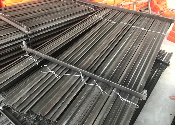 Hot dipped Galvanized and bituman coated Star picket for Cattle Fencing Y post 2.04kg per meter supplier