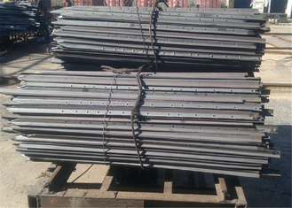 2.1m Black Bitumen Painted Star Picket/ Y Shaped Steel Post for 2.1mx2.4m temporary fencing