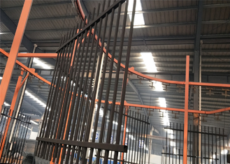 6' height steel tubular fencing panels