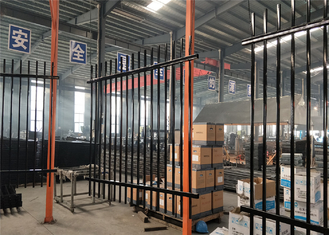 SYDNEY METRO Garrison Fencing Panels 2.1mx2.4m for warehouse Interpon Powder Coated supplier