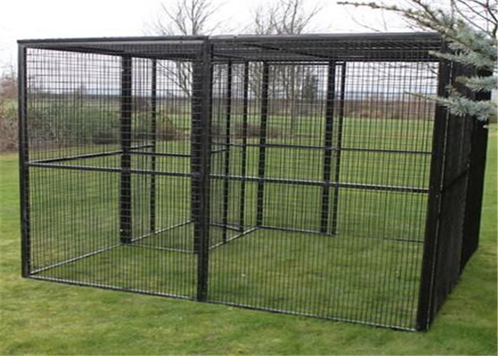Galvanized bird aviary cage