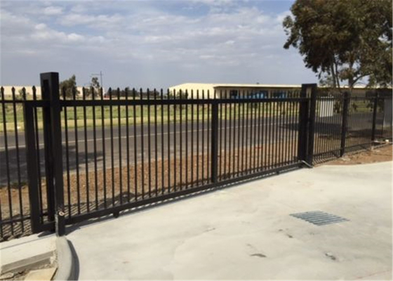 Wholesale Custom Designed Aluminium Garrison Fence Panels for Garden Fencing supplier