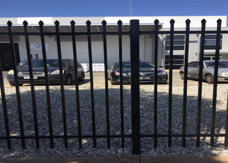 Ornamental Picket Spear Fence, Also Named Steel Tubular Spear Fence supplier