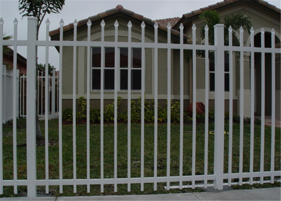 Ornamental Picket Spear Fence, Also Named Steel Tubular Spear Fence