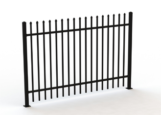 Metal wrought iron steel fence panels supplier