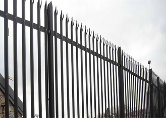 Triple Point Hot Galvanized Palisade Fencing