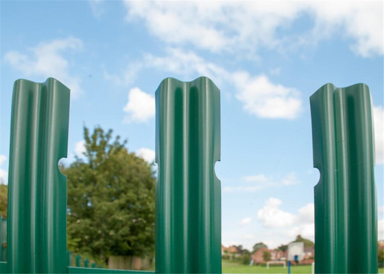 Triple Point Hot Galvanized Palisade Fencing supplier
