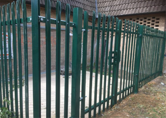 Powder Coated or Galvanized W D Section Palisade Security Fence supplier