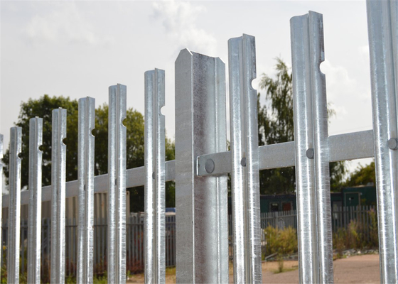 Hot dipped Galvanized Palisade fencing supplier