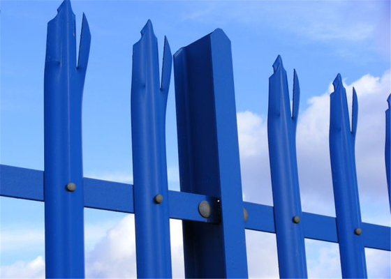 Hot Dipped Galvanized Palisade Fence