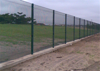 South Africa Anti Climb Galvanized  Prison Mesh 358 Security Fence supplier
