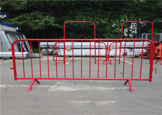 Heras 2m Width security galvanized crowd control barriers fence supplier