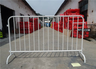 Panel Size: 2100mm(L) x 1100mm(H) OD38mm tube Pedestrian Barriers