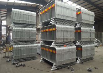 Hot dipped Galvanized Crowd Control Barriers supplier