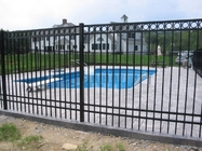 China 1.8mx2.4m Heavy duty commercial garrison fencing for Australia company