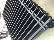 tubular garrison fence panels