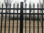 Spear TopIndustrial Garrison SPEAR PRESSED FENCE / Cheap Steel SPEAR PRESSED FENCE