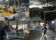 China Garrrison Fence Post Hot Dipped Galvanized 65mm x65mm x 2.5mm x 3000mm length 2.1mx2.4m width factory
