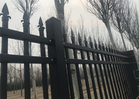 China Metal Steel Ornamatal Fencing Made In China ,STEEL garrison Fence ,High Security Fence factory