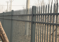 China Decorative Steel Wall Fence with Good Quality and Competitive Price factory