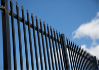 Tubular steel security fencing/steel hercules fence panel/Commercial fencing