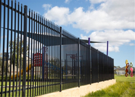 China Pool Fence/ Tubular Steel Fence/ Steel Slat Fence,hercules Fence ,Steel Tubular Fence,Garrison Fence factory