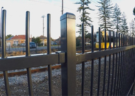 China Ornamental Fence steel Fence factory