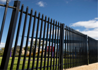 China Diplomat Security Fencing Panels 2.1mx2.4m black powder coated factory