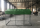China chain link fence dog kennel 2.23x3.0x1.83m factory