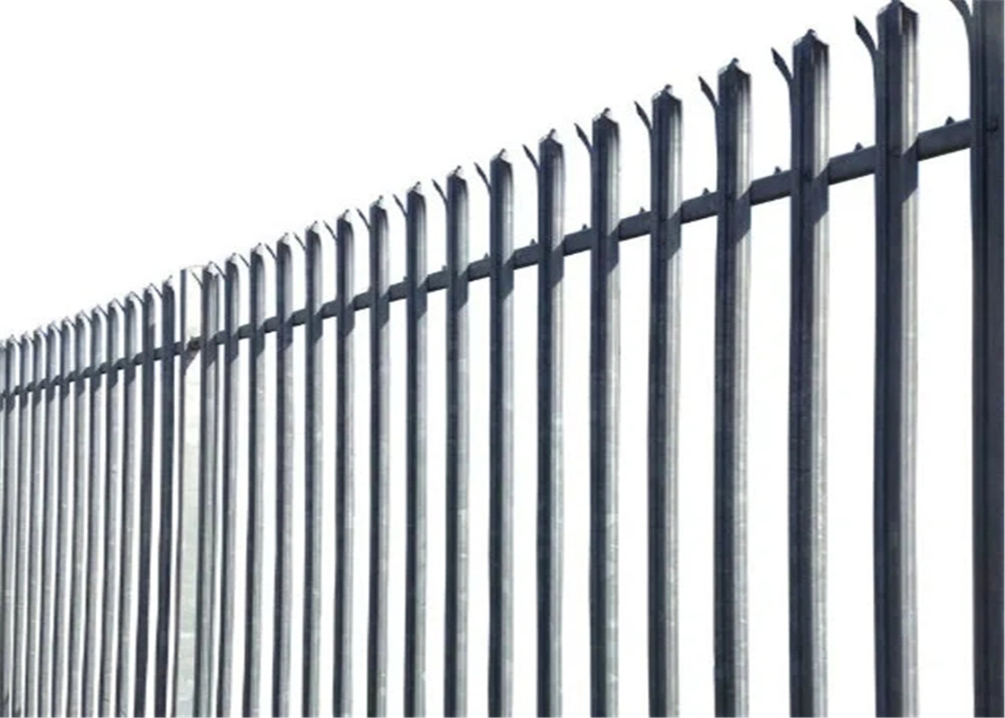 D pale Palisade Fencing supplier