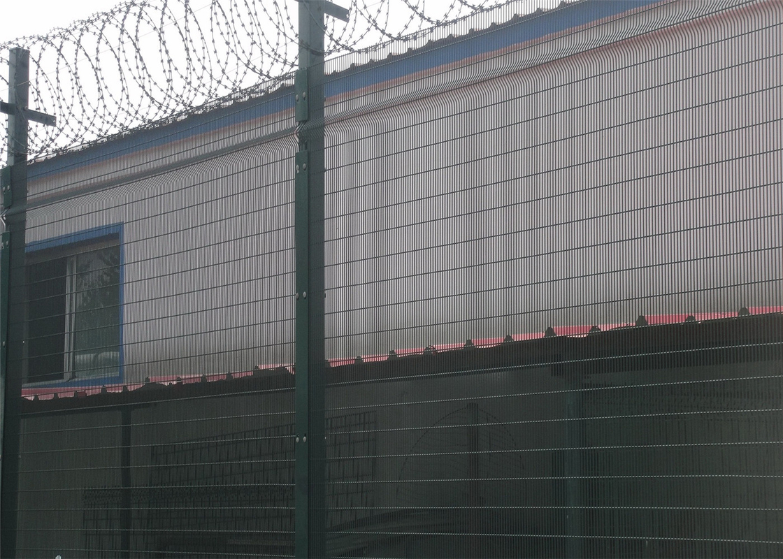 Anti-Climb Wire Mesh Fencing Panels