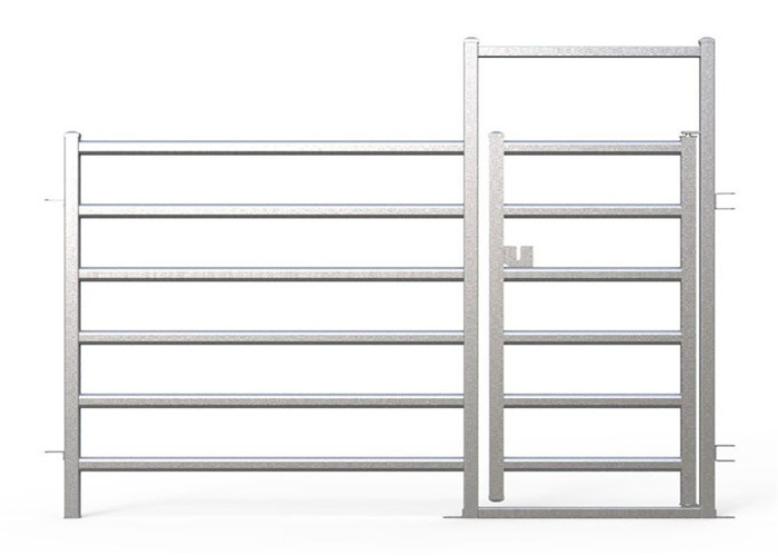 Galvanized cattle panel