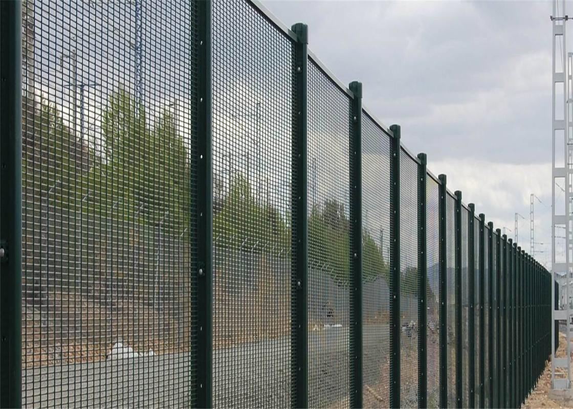 V fold 358 high security fencing panels