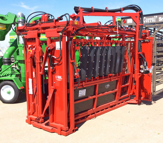 Hydraulic Cattle Chute