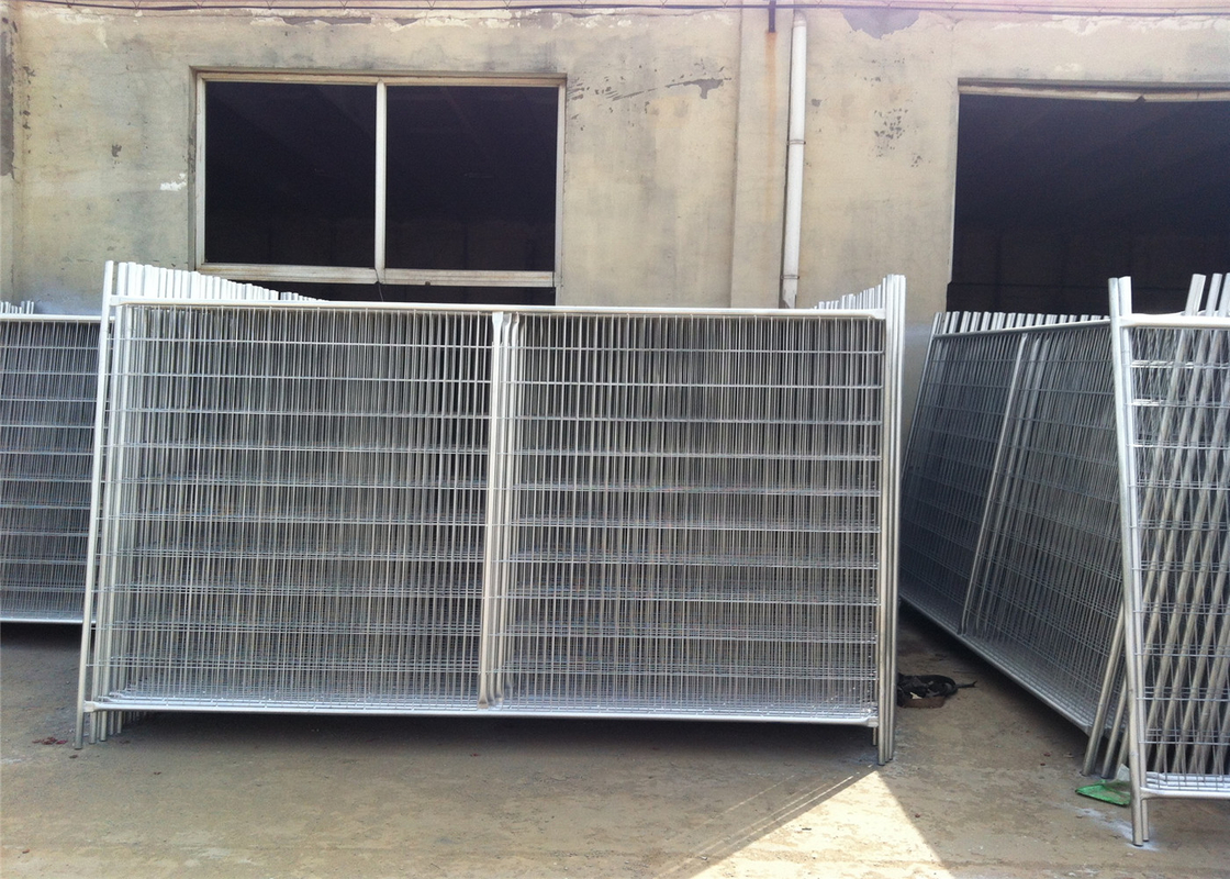 Australia Standard Temporary Fencing 2.1mx2.4m AS4687-2007 standard OD32mm*1.40mm wall thick